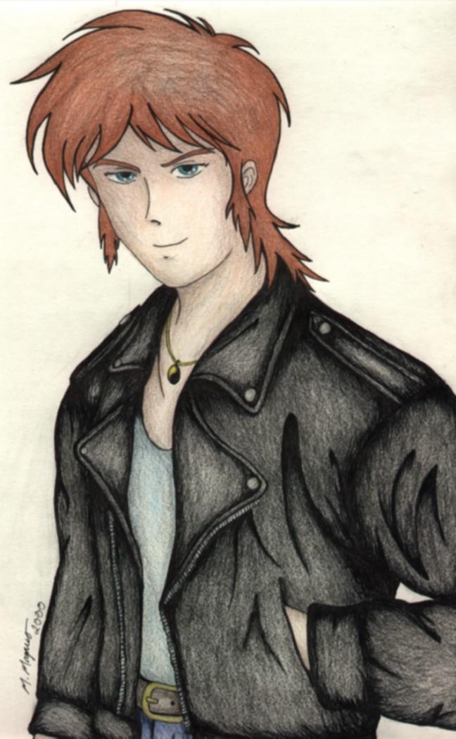 Anime Characters Leather Jacket : Char pokémon the alola chronicles always open